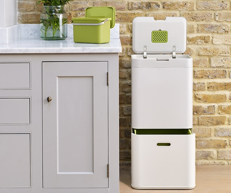 Joseph Joseph Totem Is A Recycling Friendly Kitchen Bin