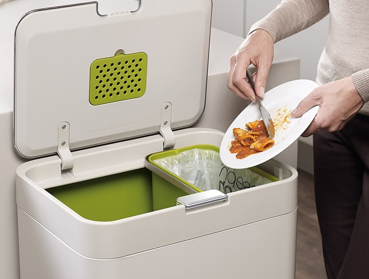 Joseph Joseph Totem Is A Recycling-Friendly Kitchen Bin That Makes ...