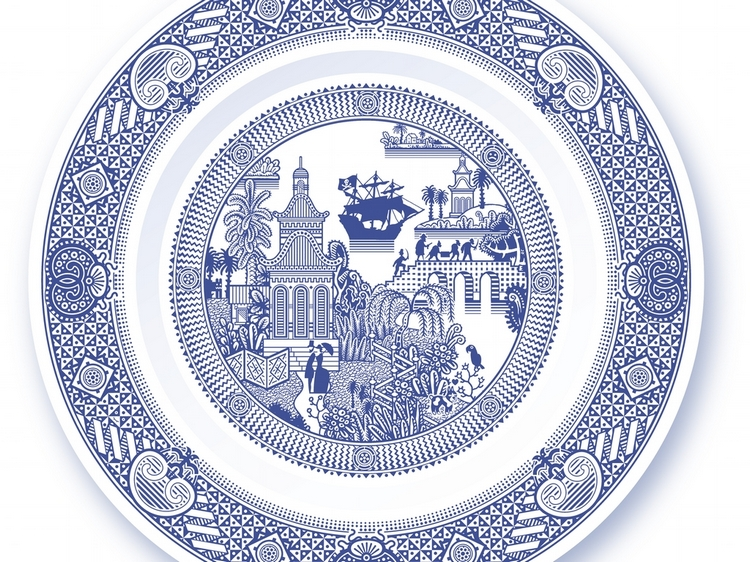 pirates wreak havoc on calamityware's newest dinner plate design
