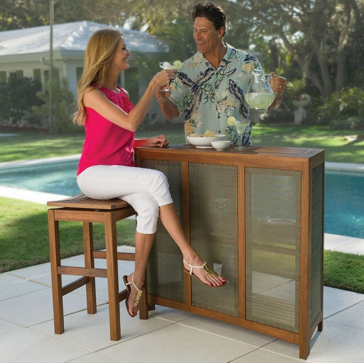 Fortaleza Folding Outdoor Bar 1