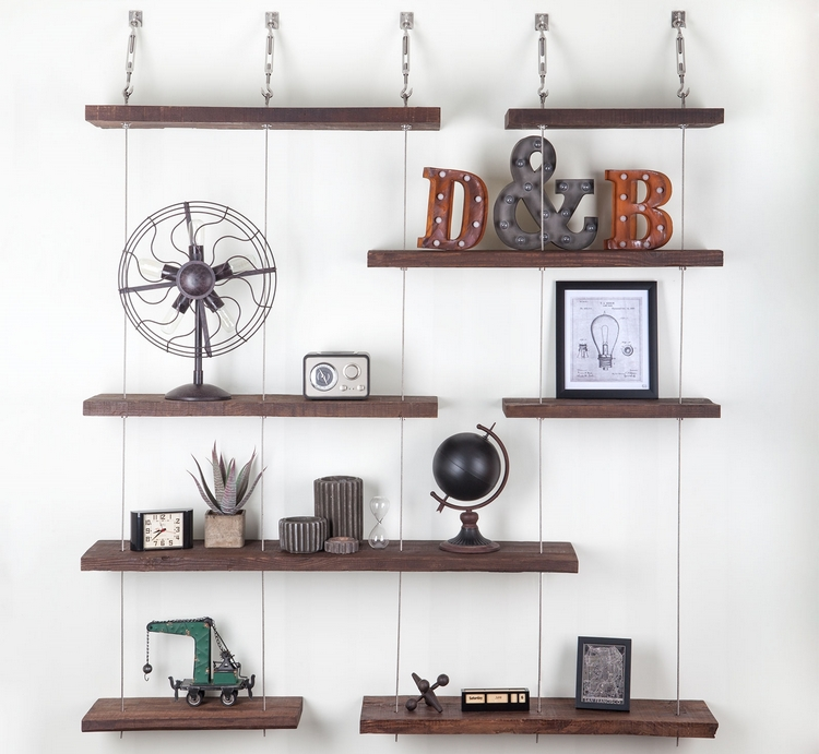 Floting Shelves turnbuckle floating shelves