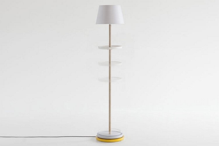 Impila Is A Floor Lamp With Integrated
